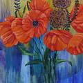 Poppies by PJ Wetak