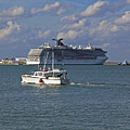 Port Canaveral In Florida by Allan  Hughes