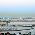 Port Of Los Angeles 0570 by Edward Ruth