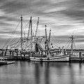 Port Royal Shrimp Boats by Steven Greenbaum