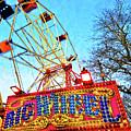 Portable Ferris Wheel Victorian Winter Fair by Wilf Doyle