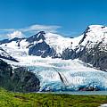 Portage Glacier by Ed Boudreau