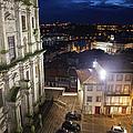 Porto By Night In Portugal by Artur Bogacki