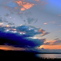 Portobello Clouds by Nik Watt