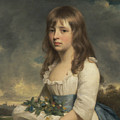 Portrait Of A Girl by William Beechey