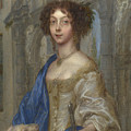 Portrait Of A Woman As Saint Agnes by PixBreak Art