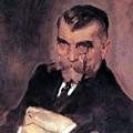 Portrait Of Aa Stahovich 1911 Valentin Serov by Eloisa Mannion