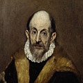 Portrait Of An Old Man by El Greco