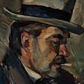 Portrait Of Artist Karnakoski by Celestial Images