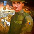 Portrait Of Corporal Roberts by Dean Gleisberg