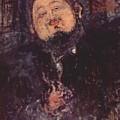 Portrait Of Diego Rivera 1914  by Modigliani Amedeo