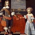 Portrait Of Evert En Reint Lewe by Jan Jansz