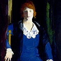Portrait Of Florence Pierce by George Bellows