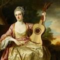 Portrait Of Maria Walpole by Francis Cotes