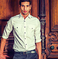Portrait Of Young Businessman. by Alexander Image