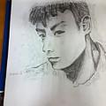 Portrait  by Tan Lan Ching