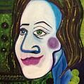 Portrat Of M.b. by Costin Tudor