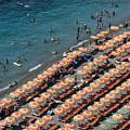 Positano Beach by John Greim