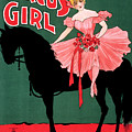 Poster, The Circus Girl.  by Granger