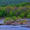 Potomac River Near Harpers Ferry by Raymond Salani III