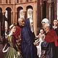 Presentation Of Christ Wga Rogier Van Der Weyden by Eloisa Mannion