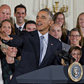 President Obama Honors Us Womens Soccer Team At White House #2 by B Christopher