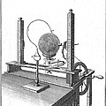 Priestleys Electrostatic Machine, 1775 by Wellcome Images
