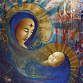 Primordial Mother Gives Birth To Solar Father by Stephen Lucas