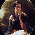Princess Leonilla Of Sayn-wittgenstein Franz Xavier Winterhalter by Eloisa Mannion