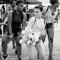 Prize Winner, Coney Island, New York #235105-bw by John Bald