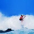 Pro Surfer Alex Ribeiro by Scott Cameron