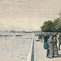 Promenade by Childe Hassam