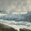 Prouts Neck, Breakers by Winslow Homer
