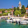 Prvic Luka Island Village Waterfront View by Brch Photography