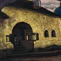 Pskov by Nicholas Roerich