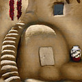 Pueblo Oven by Sharon Foster