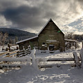 Purcell Barn by Idaho Scenic Images Linda Lantzy