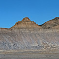 Pyramid Mountains In Emery County Utah by David Oppenheimer