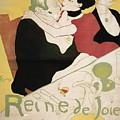 Queen Of Joy by Henri De Toulouse Lautrec
