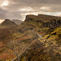 Quiraing Skye by Karl Thompson