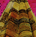 Qutab Minar Of India, Monument Of India by Kanika