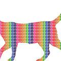 Rainbow Cat by Gary Hogben