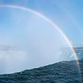 Rainbow Over Niagara Falls Horseshoe Waterfall by Oleksiy Maksymenko