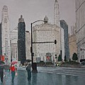 Rainy Day Chicago by Jacob Stempky