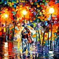 Rainy Evening by Leonid Afremov