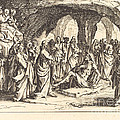 Raising Of Lazarus by Jacques Callot