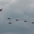 Red Arrows by Philip Pound