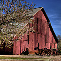 Red Barn by Jim And Emily Bush