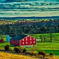 Red Barn - Pennsylvania by Skitterphoto