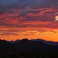 Red Hot Desert Skies  by Saija  Lehtonen